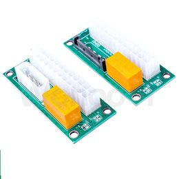 24pin power supply online shopping - add2psu ATX Pin to Molex Pin to Molex SATA Dual PSU Power Supply Sync Starter Extender Cable Card For BTC Miner two kind