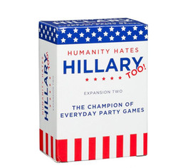 big one toy 2020 - Humanity Hates Trump Humanity Hates Hillary Clinton Card Game Expansion One (80 White Cards, 30 Black Cards)Ship Immedia