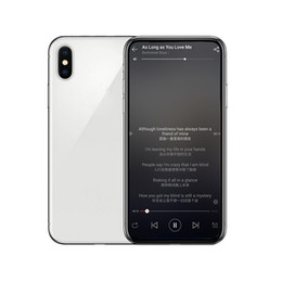 China New Face ID Goophone X IX Full Screen Wireless MTK6580 Quad Core Android 7.0 Rom 16GB Ram Smartphone 3G Unlocked Cellphones cheap 16gb ram 1gb video suppliers