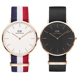 Discount men watches resistant - Daniel Watch Men AAA Luxury Mens Watches Famous Brand Designer Women Man Quartz Wristwatches 36 40mm Ladies Lovers'