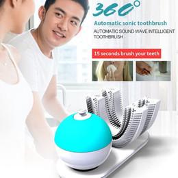 Vente en gros Amabrush Brosse à dents automatique Sonic Brosses à dents électriques avec brosse à dents automatique à double tête
