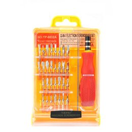 China Professional Flexible 32 in1 Precision Screwdriver Set Mobile Phone PC Tablet Repair Kit Tools Free DHL supplier phone 32 suppliers