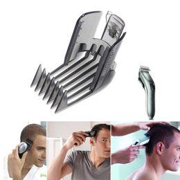 $enCountryForm.capitalKeyWord NZ - 1pc Black Hair Clipper Trimmer Comb Hair Beard Razor Cutter Guide Adjustable Comb Attachment Tools Plastic New Fashion Black free shipping