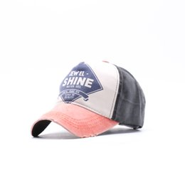34a93054230ac 2018 New Cotton Letter Print Brand Baseball Cap Men And Women Snapback  Motorcycle Cap Grinding Do Old Hat Free Shipping shine