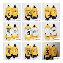 Wholesale 2018 Season Nashville Predators jersey Forsberg Mike Fisher Pekka Rinne Roman Josi PK Subban Ryan Johansen Hockey Jerseys