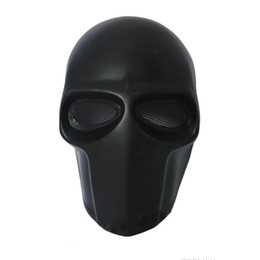 Chinese  Army of Two party Mask Fibreglass Tactical Airsoft Paintball Helmet (Black) dance mask Safety Mask Guard manufacturers