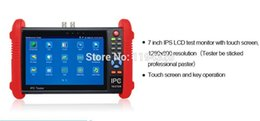 Wholesale 7 inch CCTV tester IPC9800 monitor IP analog camera tester onvif POE V output HDMI out Built in WIFI