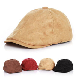 Little Hats Australia - Fall Winter Kids Solid Beret Hat for Little 4 Colors Wool Beret For Children Kids Winter Warm Hat Cap 6pcs