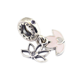 a6878f457 New Authentic 925 Sterling Silver Bead For Jewelry Making Serene Lotus  Flower Charm Fit Europeam Bracelets Woman DIY Jewelry