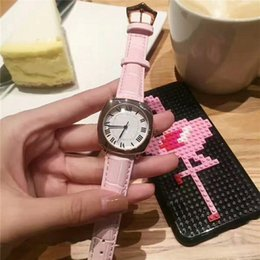 $enCountryForm.capitalKeyWord Canada - 2018 Popular Casual Square Dial Women watch Rose Gold Leather Wristwatch Lady watches famous brand Dress watch free shipping free box