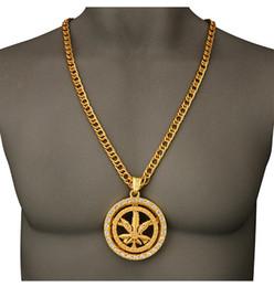 Necklaces Pendants Australia - Hip Hop Pendant Necklace Mens Punk Style Silver Gold Zircon Men Women Pendant Necklace Jewelry Free Shipping