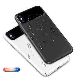 Goophone for online shopping - For iPhone X Wireless Charging Hard Plasitc PC Back Cover Case with Glass All inclusive Protection Anti Fingerprints Anti Scratch Goophone X