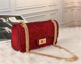 $enCountryForm.capitalKeyWord Canada - Free shiopping 2018 Bridal handbags Fashion red chain makeup bag famous luxury party bag Marmont Rose flower shoulder bag Womendesigner bags