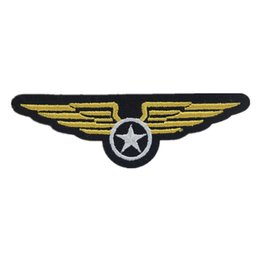 Medals accessories online shopping - Embroidered Patch Sewing Iron On Medal Armband Wings Patches Badge For Bag Jeans Hat Appliques DIY Sticker Decoration Apparel Accessories