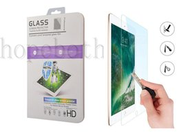 Discount 12.2 tablet - Tempered Glass 0.3MM Screen Protector For iPad 2 3 4 Mini Air Air2 Pro 2017 9.7 10.5 12.9 inch