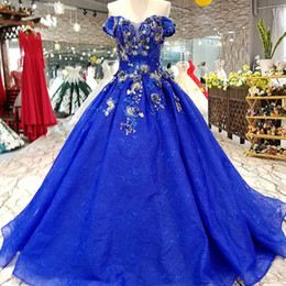 Club faCtory dresses online shopping - 2019 Royal Blue Simple Cheap Evening  Dresses Off Shoulder Sweetheart 8999ea5e4