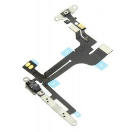 Iphone Plus Volume Flex Australia - 10pcs lot High Quality New Power Button On Off Flex Cable For iPhone 5 5G 5s 5c SE Plus Mute Volume Switch Connector Ribbon Parts