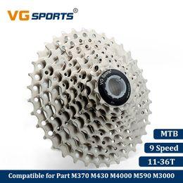 Bike Flywheel Australia - VG Sports Mountain Bike MTB 9 Speed Cassette 9 Velocidade 9S 36T Bicycle Parts Freewheel Flywheel Sprocket Cog Cdg Xg 399g