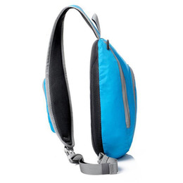 Cross shoulder hiking paCks online shopping - Sling Shoulder Backpacks Bags Man Women Crossbody Rope Triangle Pack Rucksack Hiking Multipurpose Daypacks And School Handbag