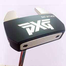 AttAck blAck online shopping - TOP Quality Black Golf Clubs PXG BAT ATTACK Golf Putter Steel Golf shaft and Putter Headcover Fast Shipping inches Available