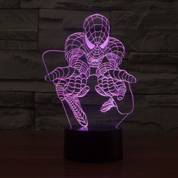 $enCountryForm.capitalKeyWord NZ - New Spider Colorful 3D Lights Man Remote LED Light Gradient Vision Stereo Lamp Creative Atmosphere Table Lamp