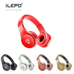 S55 Wireless Headphones Bluetooth Gaming Earphones Support TF Card With Mic Foldable Headband Retail Box Better Bluedio Marshall