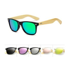 China Square Shades Brand Design Bamboo polarized Sunglasses Men Wood Women Sport Retro Vintage Eyewear polorized 1501 Mirror Unisex Oculos suppliers