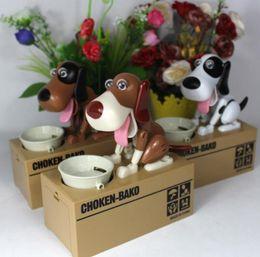 I Electronic NZ - Cartoon Dog Model piggy bank Eat Bank Money Save Pot Saving Coin Box Creative Gift can't resist Taste So Good I Love money