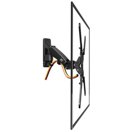 "Chinese  NB F350 Aluminum Gas Spring 40""-50"" LCD LED TV Wall Mount Full Motion Monitor Holder Arm Loading 17.6-35lbs (8-16kgs) manufacturers"