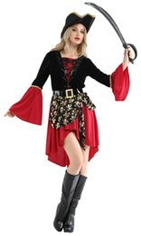 Toy Story Australia - Shanghai Story 2018 Women's Halloween Fancy Dress Clothing Female Cruel Seas Captain Buccaneer Pirate Cosplay Costume Ladies