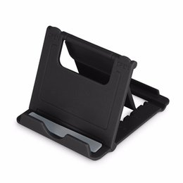 Foldable Desk Stand For Tablets NZ - Mini Phone Universial Holder Mobile Bracket Stent Foldable Mount Portale Lazy Desk Stand For IPX Sam sung Galaxy tablet With Package