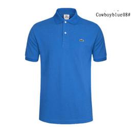 cfd20dd417 Oferta especial Camisetas para hombre O-cuello Talla grande S-5xl Camiseta  Hombre Verano Camisas de manga corta Camiseta de marca Hombre Ropa Camiseta  polo