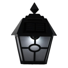 Chinese  Waterproof LED Solar Light Motion Sensor Outdoor Activated Hexagonal Wall Lamp Garden Yard Pathway Light Emergency Wall Lamp manufacturers