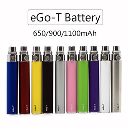 Ego vapE battEriEs wholEsalE online shopping - High Quality eGo T Battery eGo Batteries E Cigarette Vape Pen mAh mAh mAh Colors Fit MT3 H2 CE3 Glass Atomizers