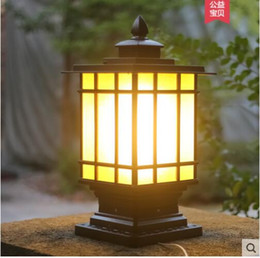 5165b9f1b571b Villa European pillar lamp outdoor waterproof pillar lights landscape  garden lights