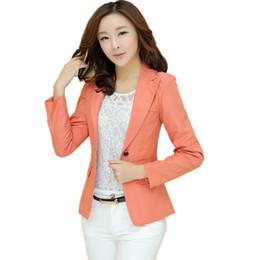 Spring Work Suit Women UK - 2018 Spring Slim Women Blazers   Jackets Long  Sleeve Work 777256d02