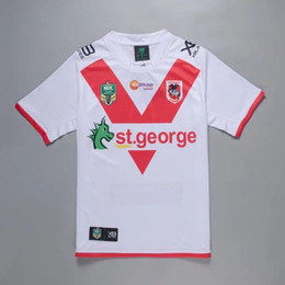 Discount george t shirt - 2018-19 NRL Jerseys St George HOME Rugby Jerseys Rugby t-shirt new arrival high quality jersey rugby clothes wear free s