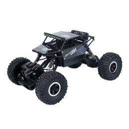 Control remoto todoterreno coche de escalada para niños juguete eléctrico de carga de alta velocidad de tracción en las cuatro ruedas de gran pie de aleación modelo de competencia truco coche