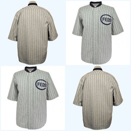 baseball jersey number stitching Canada - Chicago Whales 1914 Road Jersey Any Player or Number Stitch Sewn All Stitched High Quality Free Shipping Baseball Jerseys