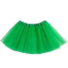 Tulle Ball Gown Girls Petticoats 2018 Lovely Kids Tu Tu Юбки для танцевальной вечеринки Свободный размер талии 44-90 см