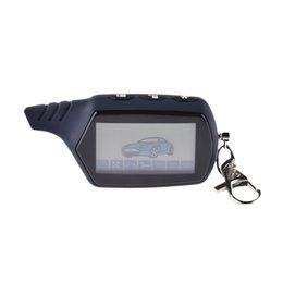 Alarm Engine UK - LCD Remote Controller 2 Way Car Alarm Key For Starline 91 Engine Starter Starline A91 Fob Keychain Body Remote