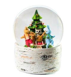 $enCountryForm.capitalKeyWord Canada - Forest animal crystal ball music box creative light snowball octave box home furnishing