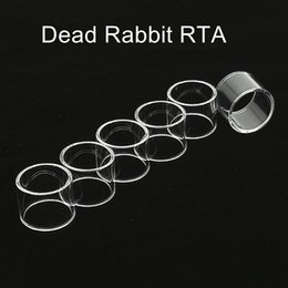 Accessory Glasses Australia - Fit Hellvape Dead Rabbit RTA replacement pyrex Glass Tube free shipping clear vape glass tank tube vape accessory