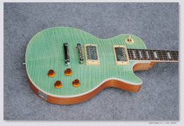 $enCountryForm.capitalKeyWord Canada - Electric Guitar with Flame Maple Veneer and Mahogany Neck,Made with Signiture and Can be Customized