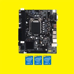 Chinese  1155 Pin CPU Hot Sale CUP Interface USB3.0 Computer Supplies Desktop Computer Motherboard Mainboard Support DDR3 Replace H61 manufacturers
