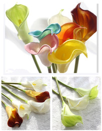 $enCountryForm.capitalKeyWord NZ - Artificial Calla Lily Flower Simulation Real Touch Flowers Hand Bouquet Flores Wedding Decoration Fake Flowers Party Supplies
