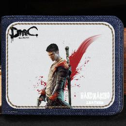 $enCountryForm.capitalKeyWord Australia - DMC wallet Devil may cry purse Fight game short cash note case Money notecase Leather burse bag Card holders