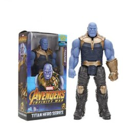 $enCountryForm.capitalKeyWord NZ - New 29cm Marvel Toys the Avengers 3 INFINITY WAR Thanos PVC Action Figures TITAN HERO SERIES Figure Collectible Model Toy