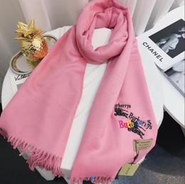 Scarf Square Cotton Australia - High Quality New Fashion Luxury brand Scarf wool silk Cashmere RT001 women scarves square Shawl size 180x70cm