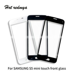 Samsung S5 Mini Touch Screen Australia - 50pcs lot Outer Glass For Samsung Galaxy S5 S5 Mini Front Glass Touch Screen Panel Digitizer Replacement Repair Cellphone Parts DHL Free